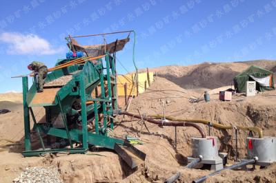 公司发往外蒙古选金设备工