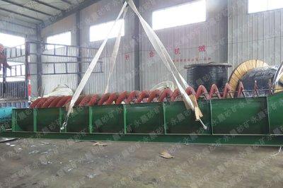 越南客户订购的洗沙设备发